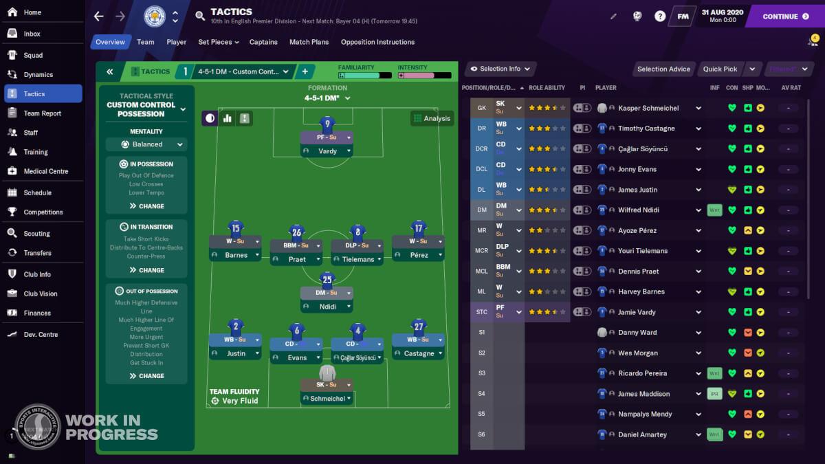 Football Manger 2021